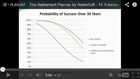 Retirement Planner Tutorial Playlist